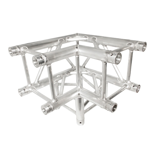Trusst CT290-4390C 290mm (12in) Truss, 3-Way, 90° Corner (includes 1 set of connectors)