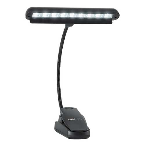 Gator GFW-MUS-LED Gator Frameworks Clip-on LED Music Lamp with Adjustable Neck
