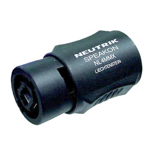 Neutrik NL4MMX 4-Pin SpeakOn Coupler
