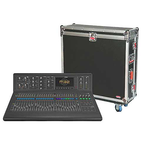 Gator G-TOUR M32 ATA Wood Flight Case for Midas M32 large format mixer