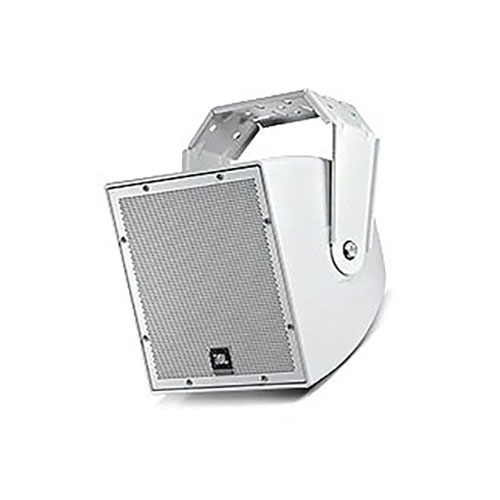 "JBL AWC82 8"" All-Weather Compact Co-axial Loudspeaker, White"