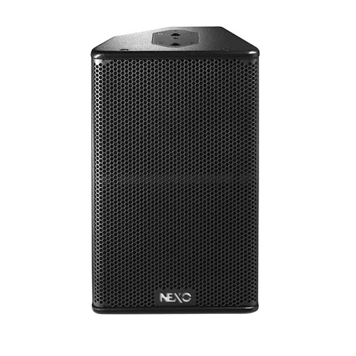 NEXO PS10UR Passive 2-Way High Power 10 inch Loudspeaker. Horn on right in monitor position