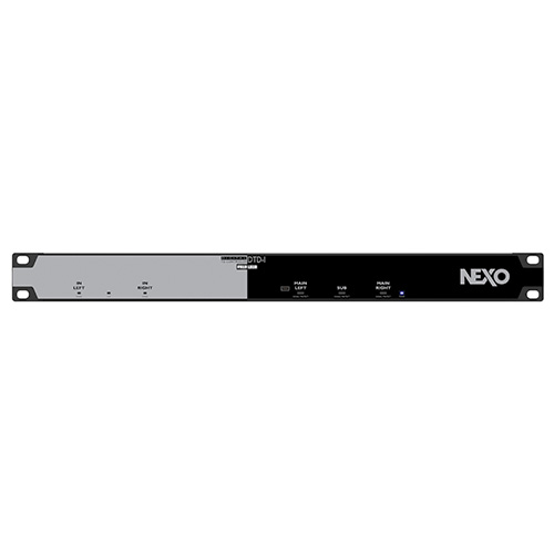 NEXO DTD-IN Digital Controller  Install version with Euroblock connectors. Dante network interface.