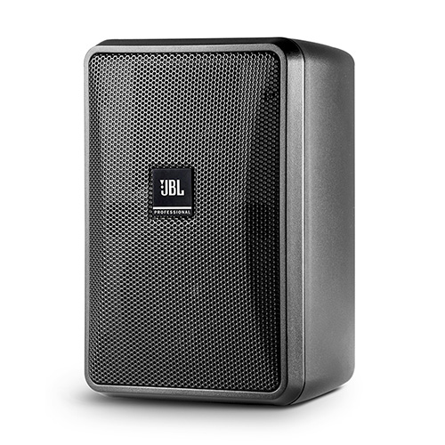 "JBL CONTROL 23-1 3"" Two-Way Vented Loudspeaker, Black. Priced as Each, Packed as Pairs."