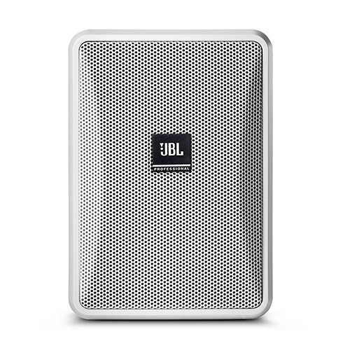 "JBL CONTROL 23-1-WH 3"" Two-Way Vented Loudspeaker, White. Priced as Each, Packed as Pairs."