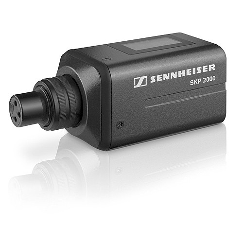 Sennheiser SKP 2000XP-Aw Plug-on transmitter with 48v phantom power.  Frequency range Aw (516 / 558 MHz)
