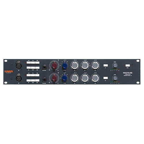 Warm Audio WA273-EQ Dual Channel Mic Preamp/DI with EQ (based on the Neve 1073)