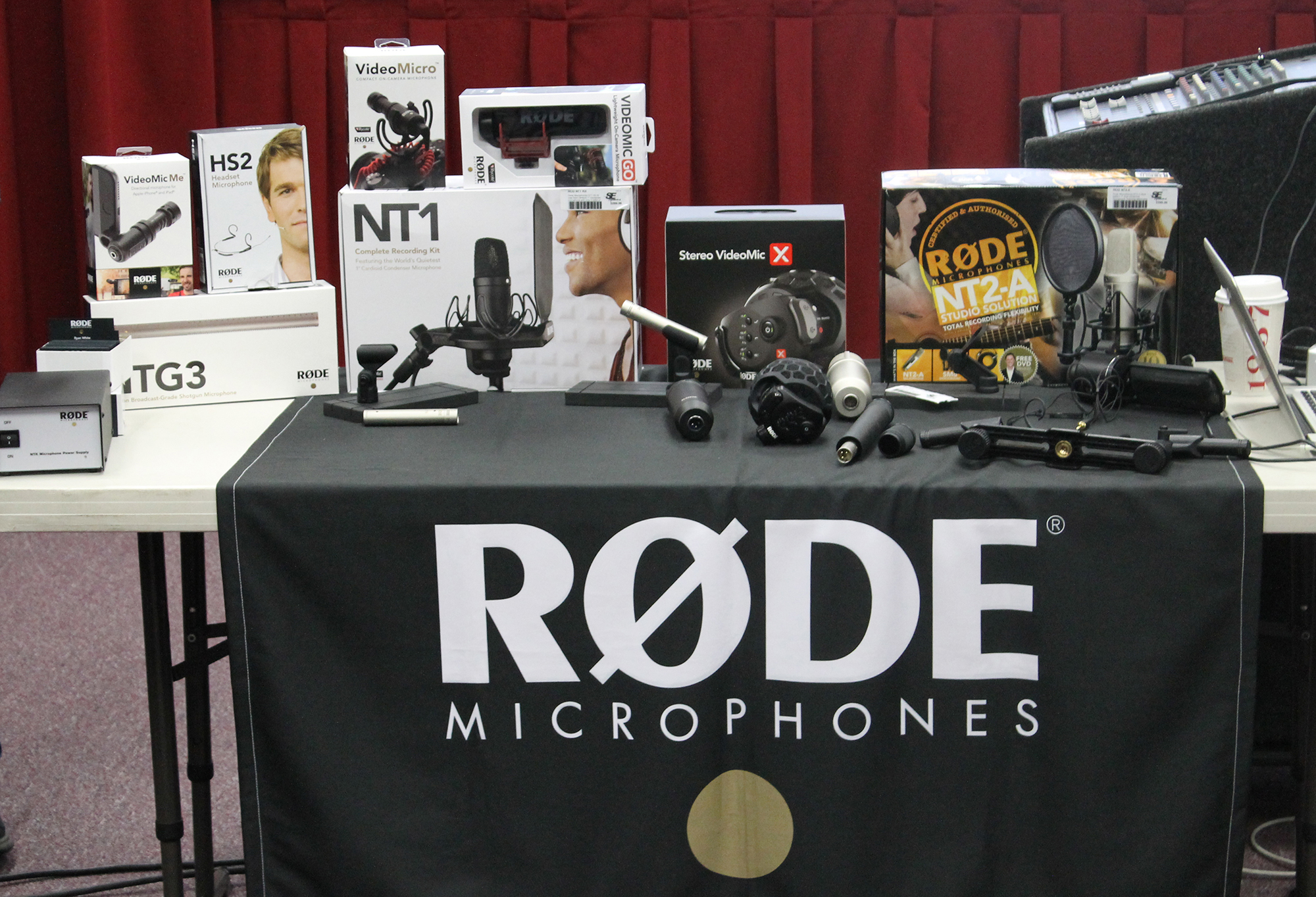 Rode Microphones Display