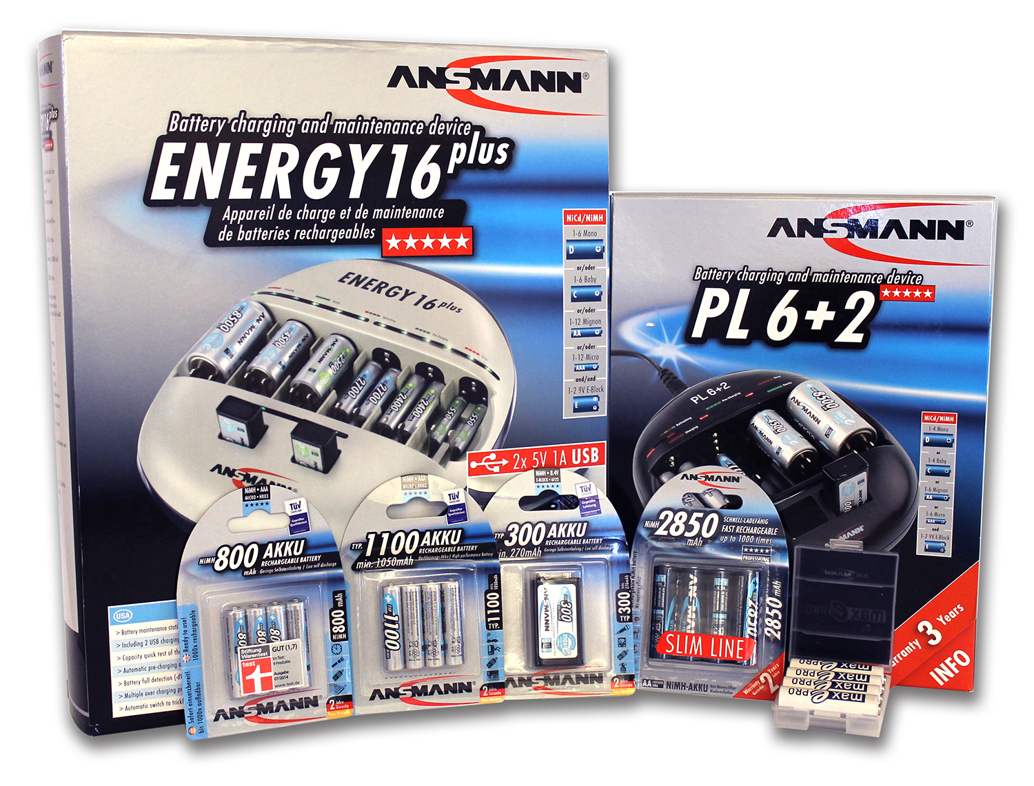 Ansmann Batteries