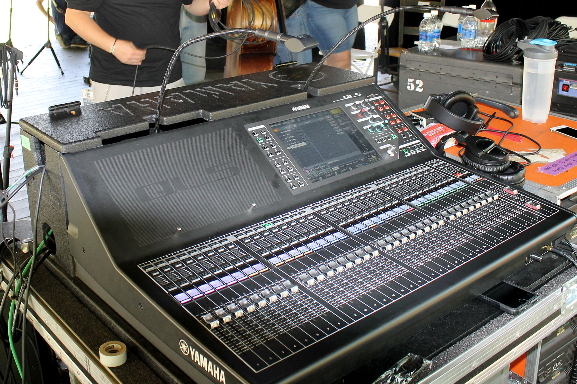 Yamaha QL5 at Monitors Creekside Stage