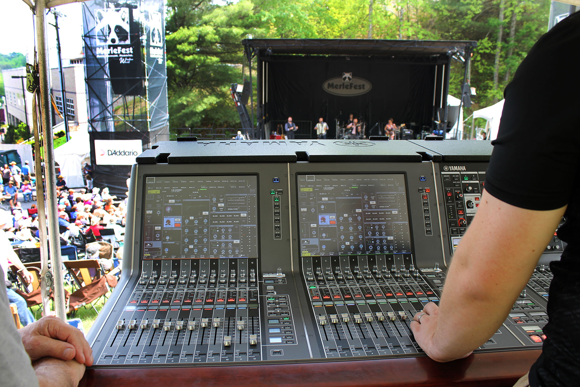 Yamaha Rivage PM10 At Hillside FOH