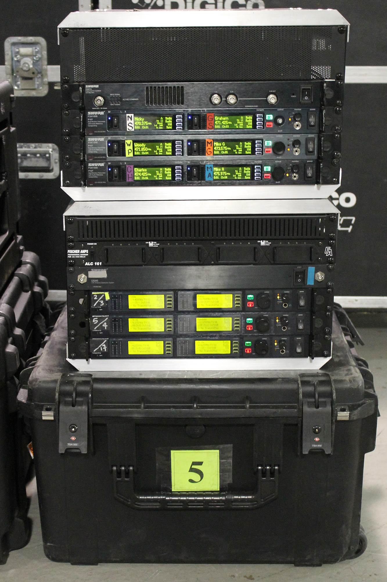 Steep Canyon Wireless Racks
